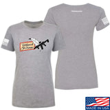 Tattooed n Southern Ladies Tattooed n Southern Logo T-Shirt T-Shirts SMALL / Light Grey by Ballistic Ink - Made in America USA