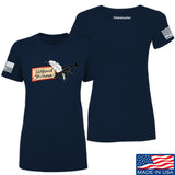 Tattooed n Southern Ladies Tattooed n Southern Logo T-Shirt T-Shirts SMALL / Navy by Ballistic Ink - Made in America USA