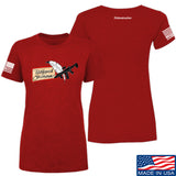 Tattooed n Southern Ladies Tattooed n Southern Logo T-Shirt T-Shirts SMALL / Red by Ballistic Ink - Made in America USA