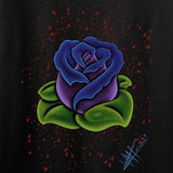 Tattooed n Southern Splattered Rose Long Sleeve T-Shirt Long Sleeve [variant_title] by Ballistic Ink - Made in America USA