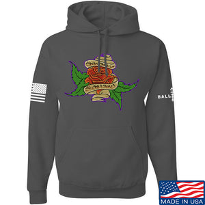 Tattooed n Southern Sticks and Stones Hoodie Hoodies Small / Navy by Ballistic Ink - Made in America USA