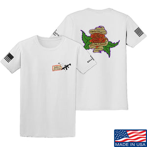 Tattooed n Southern Sticks and Stones T-Shirt T-Shirts Small / Charcoal by Ballistic Ink - Made in America USA