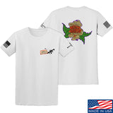 Tattooed n Southern Sticks and Stones T-Shirt T-Shirts Small / White by Ballistic Ink - Made in America USA