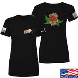 Tattooed n Southern Ladies Sticks and Stones T-Shirt T-Shirts SMALL / Black by Ballistic Ink - Made in America USA