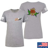 Tattooed n Southern Ladies Sticks and Stones T-Shirt T-Shirts SMALL / Light Grey by Ballistic Ink - Made in America USA