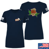 Tattooed n Southern Ladies Sticks and Stones T-Shirt T-Shirts SMALL / Navy by Ballistic Ink - Made in America USA
