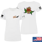 Tattooed n Southern Ladies Sticks and Stones T-Shirt T-Shirts SMALL / White by Ballistic Ink - Made in America USA