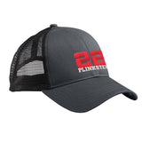 22plinkster 22plinkster Logo Snapback Cap Headwear Black/Black by Ballistic Ink - Made in America USA