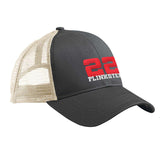 22plinkster 22plinkster Logo Snapback Cap Headwear Black/Oyster by Ballistic Ink - Made in America USA