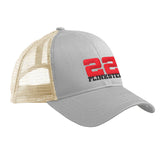 22plinkster 22plinkster Logo Snapback Cap Headwear Dolphin/White by Ballistic Ink - Made in America USA