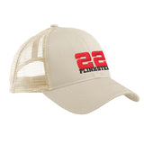 22plinkster 22plinkster Logo Snapback Cap Headwear Oyster by Ballistic Ink - Made in America USA