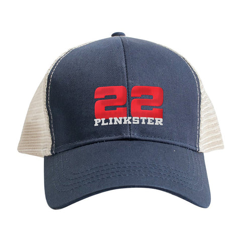 22plinkster 22plinkster Logo Snapback Cap Headwear [variant_title] by Ballistic Ink - Made in America USA