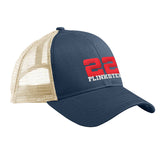 22plinkster 22plinkster Logo Snapback Cap Headwear Pacific/Oyster by Ballistic Ink - Made in America USA
