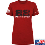 22plinkster Ladies 22plinkster Logo T-Shirt T-Shirts SMALL / Red by Ballistic Ink - Made in America USA
