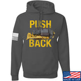 704 Tactical Push Back Hoodie Hoodies Small / Charcoal by Ballistic Ink - Made in America USA