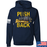 704 Tactical Push Back Hoodie Hoodies Small / Navy by Ballistic Ink - Made in America USA