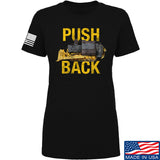 704 Tactical Ladies Push Back T-Shirt T-Shirts SMALL / Black by Ballistic Ink - Made in America USA