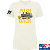 704 Tactical Ladies Push Back T-Shirt T-Shirts SMALL / Cream by Ballistic Ink - Made in America USA
