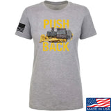 704 Tactical Ladies Push Back T-Shirt T-Shirts SMALL / Light Grey by Ballistic Ink - Made in America USA