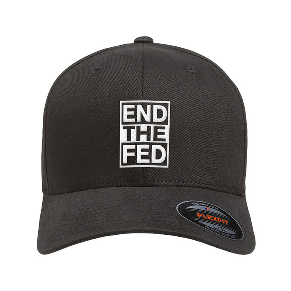 9mmsmg End The Fed Flexfit® Cap Headwear [variant_title] by Ballistic Ink - Made in America USA