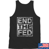 9mmsmg End The Fed Tank Tanks SMALL / Black by Ballistic Ink - Made in America USA