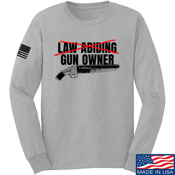 Law Abiding Gun Owner Long Sleeve T-Shirt