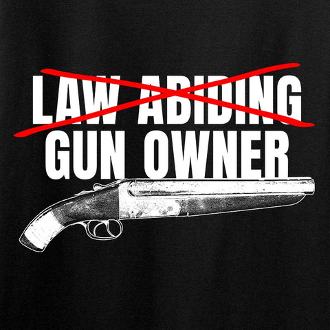 Ladies Law Abiding Gun Owner T-Shirt