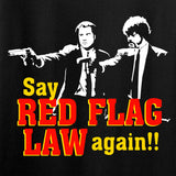 American Gun Chic Ladies Say Red Flag Laws Again T-Shirt T-Shirts [variant_title] by Ballistic Ink - Made in America USA