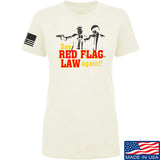 American Gun Chic Ladies Say Red Flag Laws Again T-Shirt T-Shirts SMALL / Cream by Ballistic Ink - Made in America USA