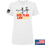 American Gun Chic Ladies Say Red Flag Laws Again T-Shirt T-Shirts SMALL / White by Ballistic Ink - Made in America USA