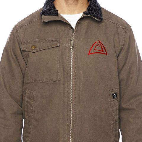 Alchemy Custom Weaponry Logo Dri Duck Men's Endeavor Jacket