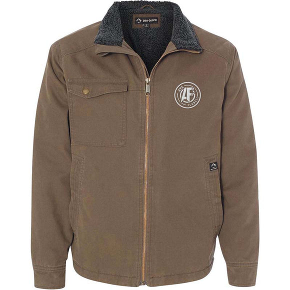 Ava Flanell Logo Dri Duck Men's Endeavor Jacket