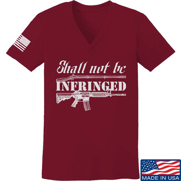 Ladies Shall Not Be Infringed V-Neck