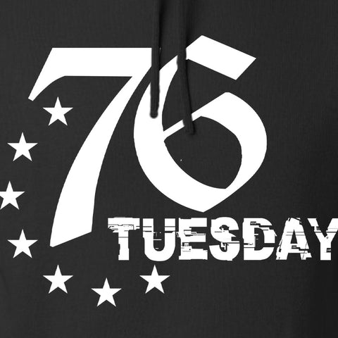 Black Diamond Guns and Gear 76 Tuesday Hoodie Hoodies [variant_title] by Ballistic Ink - Made in America USA