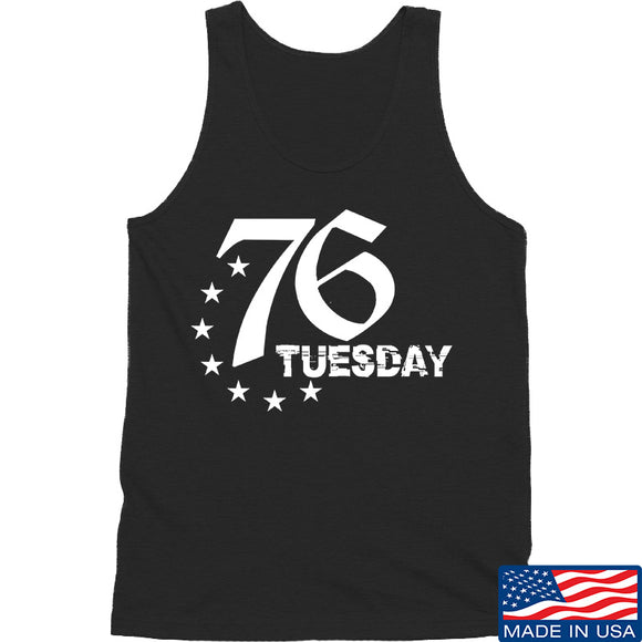 Black Diamond Guns and Gear 76 Tuesday Tank Tanks SMALL / Black by Ballistic Ink - Made in America USA