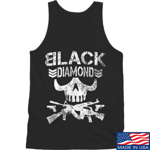 Black Diamond Guns and Gear Black Diamond Skull Tank Tanks SMALL / Black by Ballistic Ink - Made in America USA