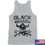 Black Diamond Guns and Gear Black Diamond Skull Tank Tanks SMALL / Light Grey by Ballistic Ink - Made in America USA