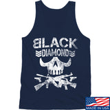 Black Diamond Guns and Gear Black Diamond Skull Tank Tanks SMALL / Navy by Ballistic Ink - Made in America USA