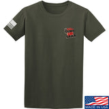 Black Diamond Guns and Gear Black Diamond Guns and Gear Chest Logo T-Shirt T-Shirts Small / Military Green by Ballistic Ink - Made in America USA
