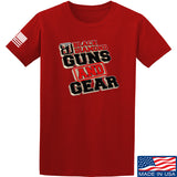 Black Diamond Guns and Gear Black Diamond Guns and Gear Full Logo T-Shirt T-Shirts Small / Red by Ballistic Ink - Made in America USA