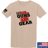 Black Diamond Guns and Gear Black Diamond Guns and Gear Full Logo T-Shirt T-Shirts Small / Sand by Ballistic Ink - Made in America USA