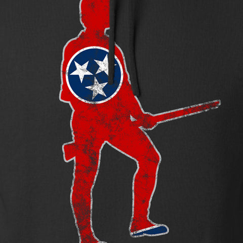 Black Diamond Guns and Gear Minutemen of Tennessee Hoodie Hoodies [variant_title] by Ballistic Ink - Made in America USA