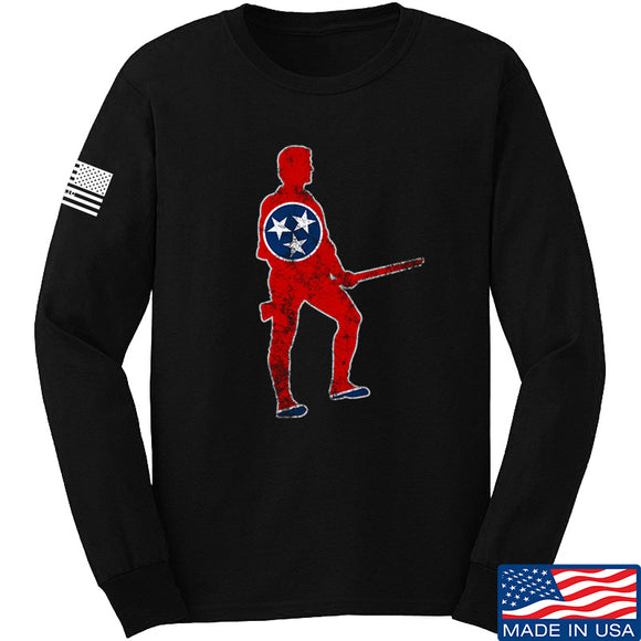 Black Diamond Guns and Gear Minutemen of Tennessee Long Sleeve T-Shirt Long Sleeve Small / Black by Ballistic Ink - Made in America USA