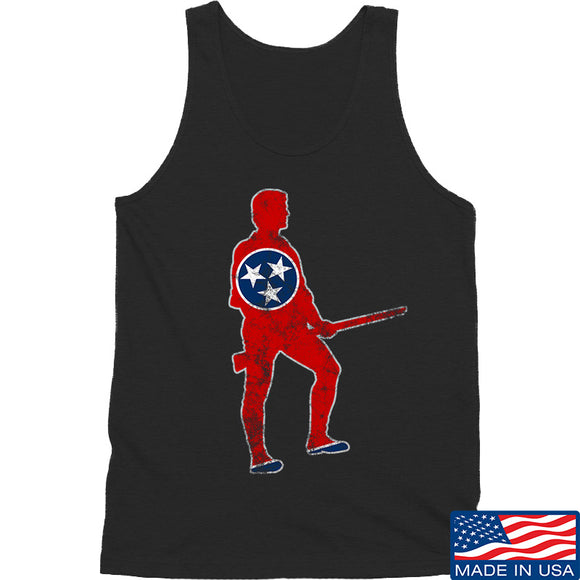 Black Diamond Guns and Gear Minutemen of Tennessee Tank Tanks SMALL / Black by Ballistic Ink - Made in America USA