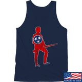 Black Diamond Guns and Gear Minutemen of Tennessee Tank Tanks SMALL / Navy by Ballistic Ink - Made in America USA