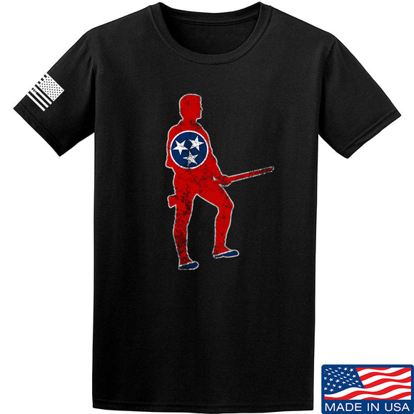 Black Diamond Guns and Gear Minutemen of Tennessee T-Shirt T-Shirts Small / Black by Ballistic Ink - Made in America USA