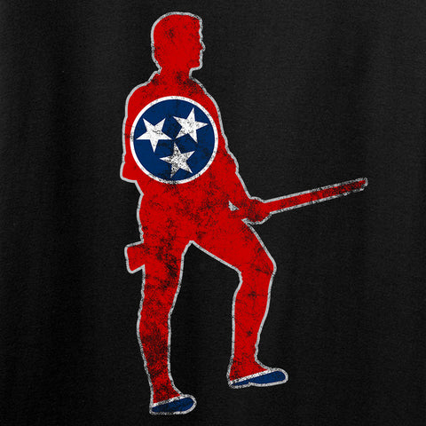 Black Diamond Guns and Gear Minutemen of Tennessee Long Sleeve T-Shirt Long Sleeve [variant_title] by Ballistic Ink - Made in America USA