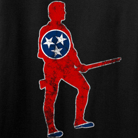 Black Diamond Guns and Gear Ladies Minutemen of Tennessee T-Shirt T-Shirts [variant_title] by Ballistic Ink - Made in America USA