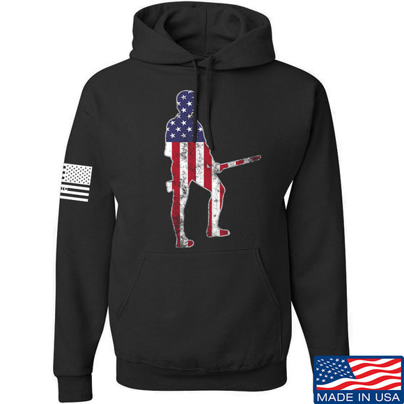 Black Diamond Guns and Gear Minutemen Hoodie Hoodies Small / Black by Ballistic Ink - Made in America USA