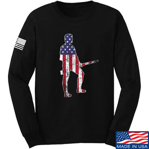 Black Diamond Guns and Gear Minutemen Long Sleeve T-Shirt Long Sleeve Small / Black by Ballistic Ink - Made in America USA